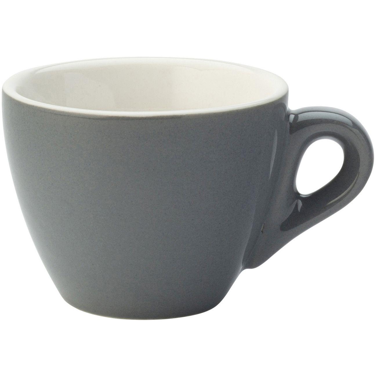 Barista Espresso Grey Cup 2.75oz (8cl) thumbnail