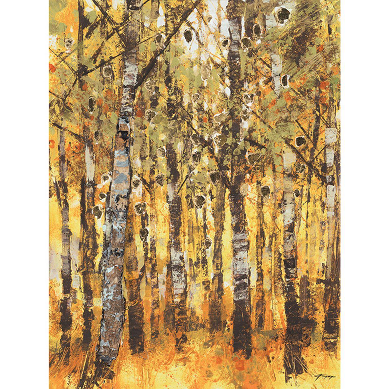 Chris Forsey (Birch Trees) Canvas thumbnail