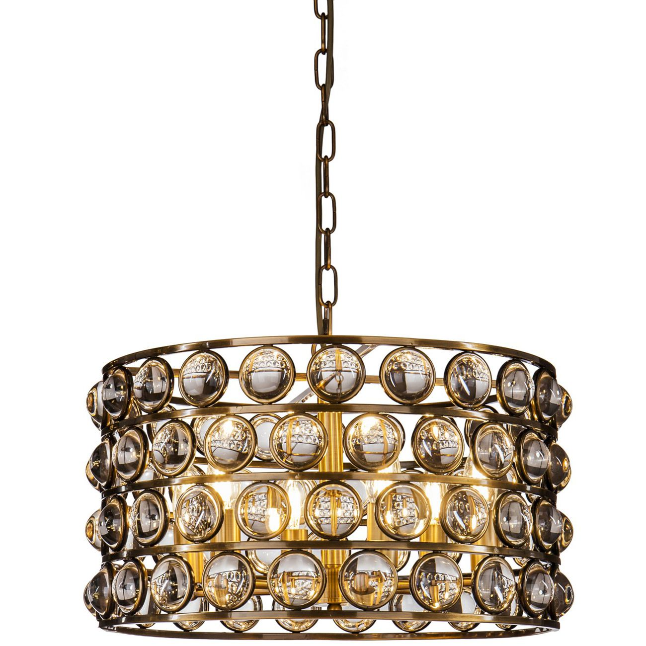 Oakley Crystal Cylinder Pendant Light thumbnail