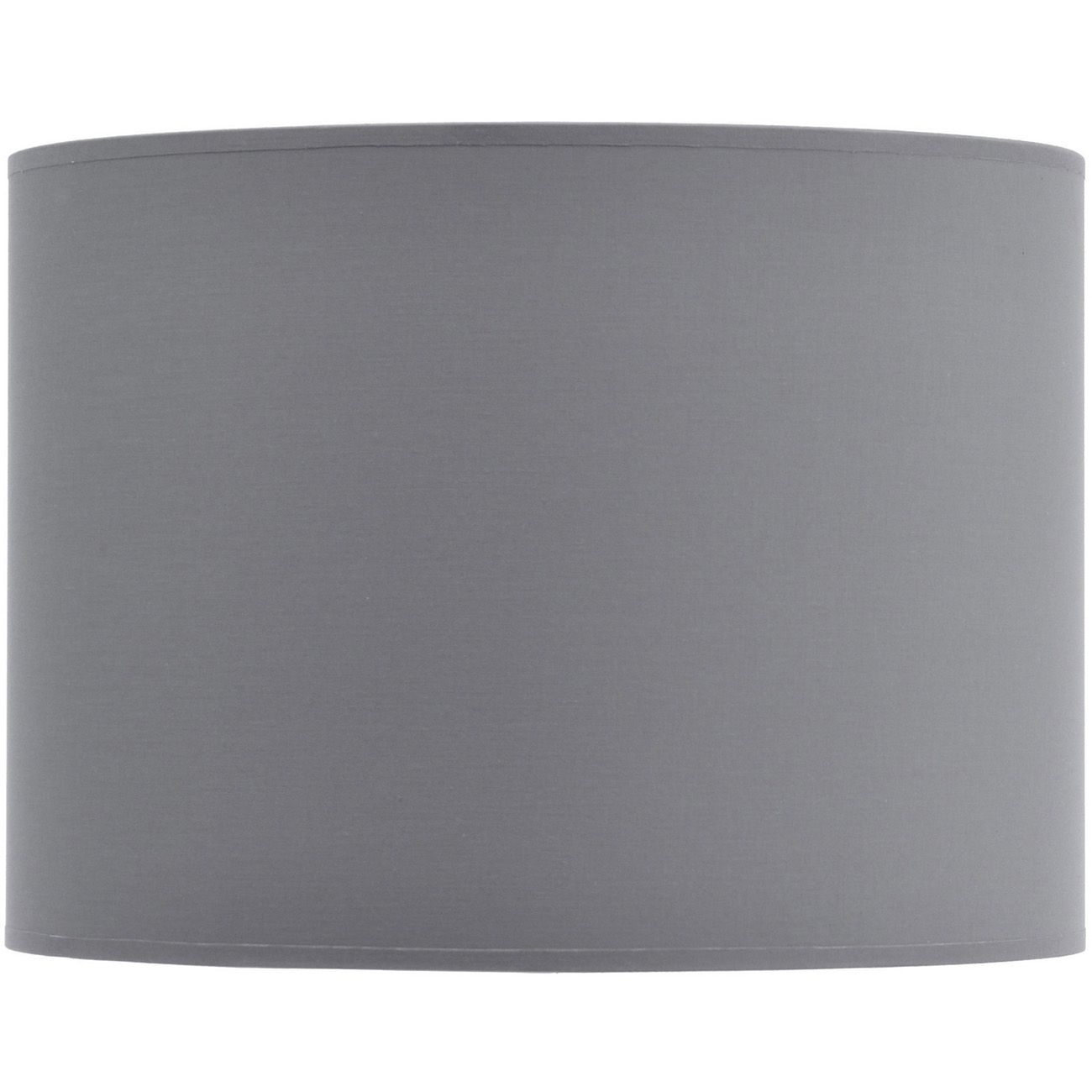 Grey and Silver Lined Drum Lampshade (14