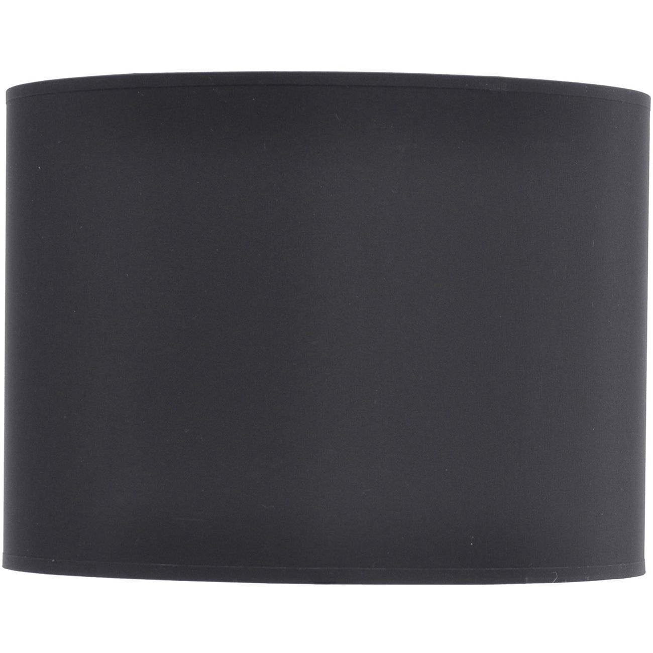 Black and Silver Lined Drum Lampshade (14