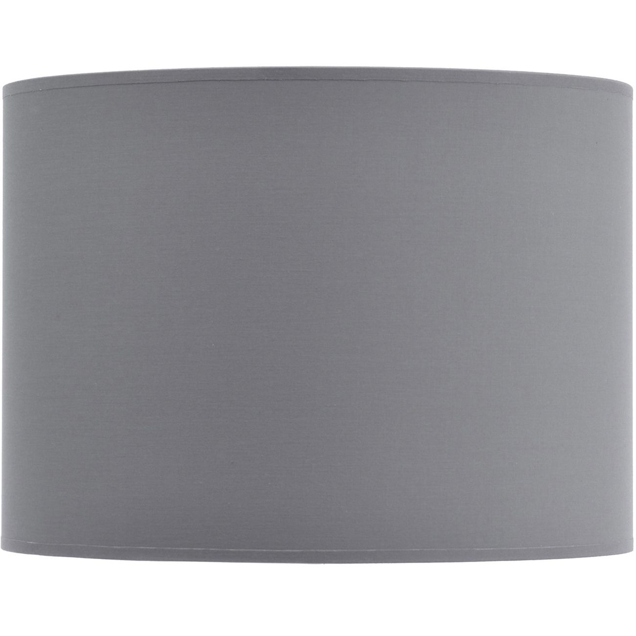 Grey and Silver Lined Drum Lampshade (16