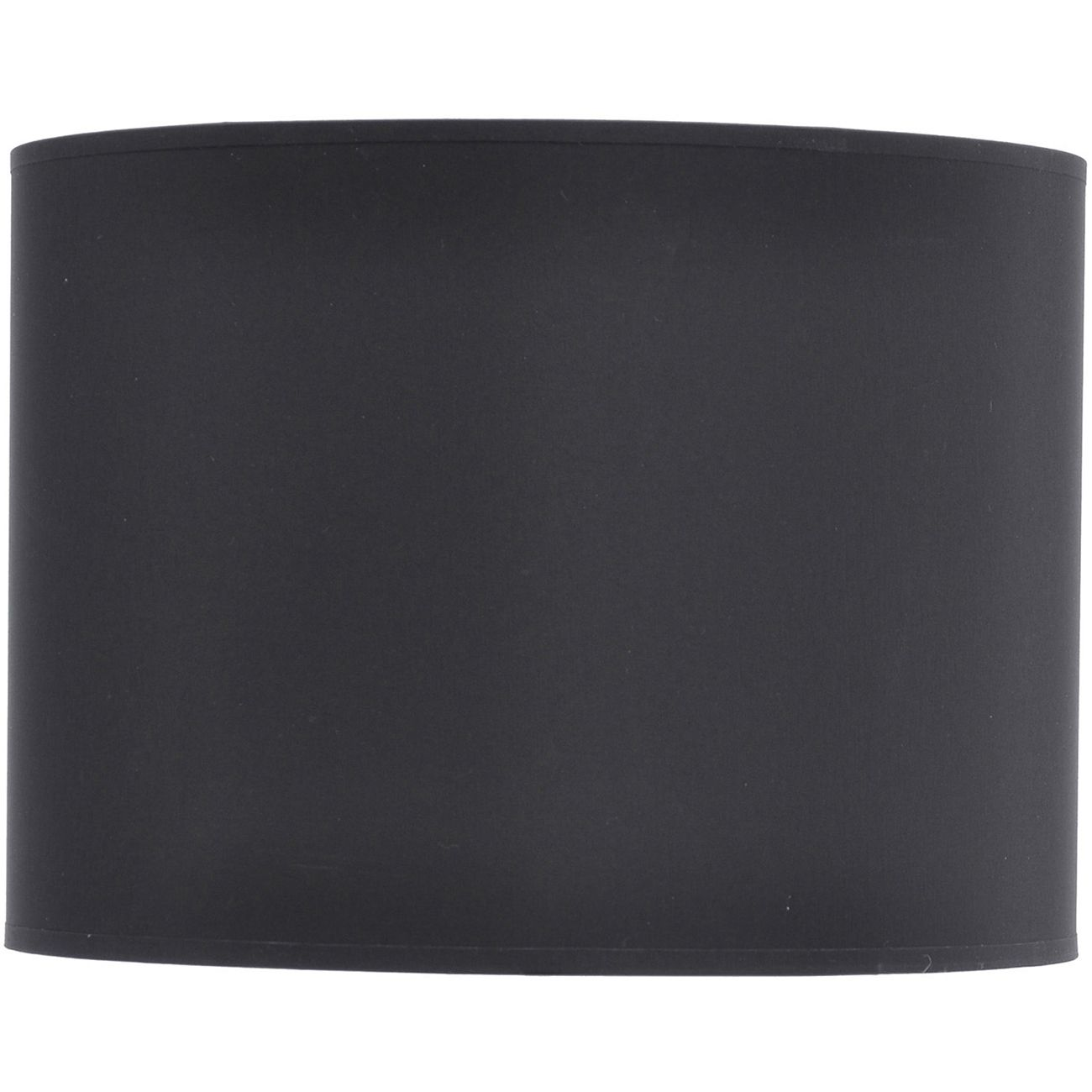 Black and Silver Lined Drum Lampshade (16