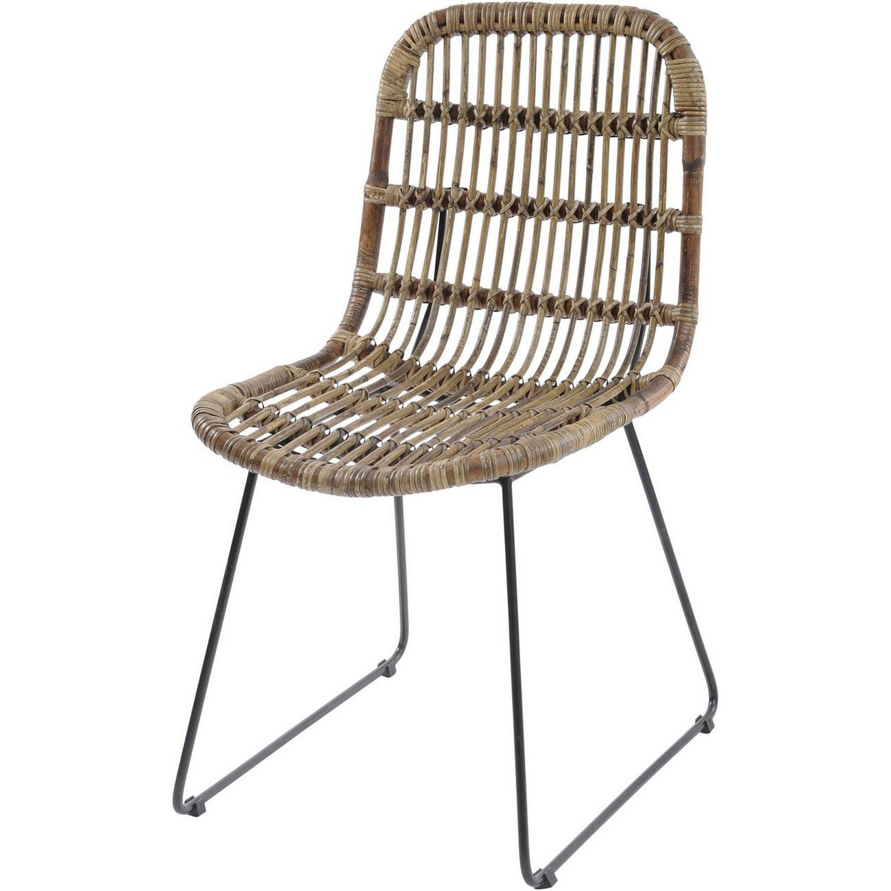 Toba Rattan Dining Chair thumbnail
