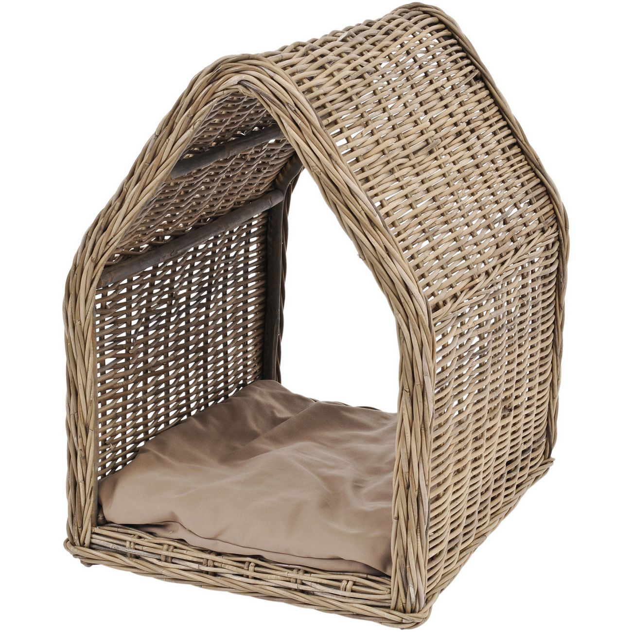 Toba Rattan Dog Kennel thumbnail