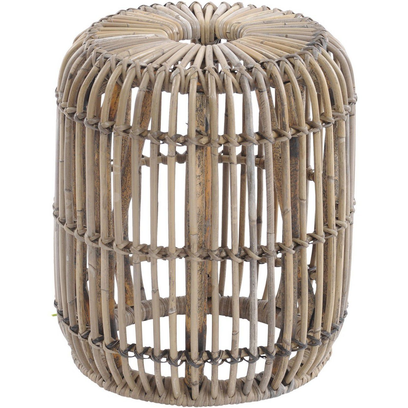 Toba Rattan Small Stool thumbnail