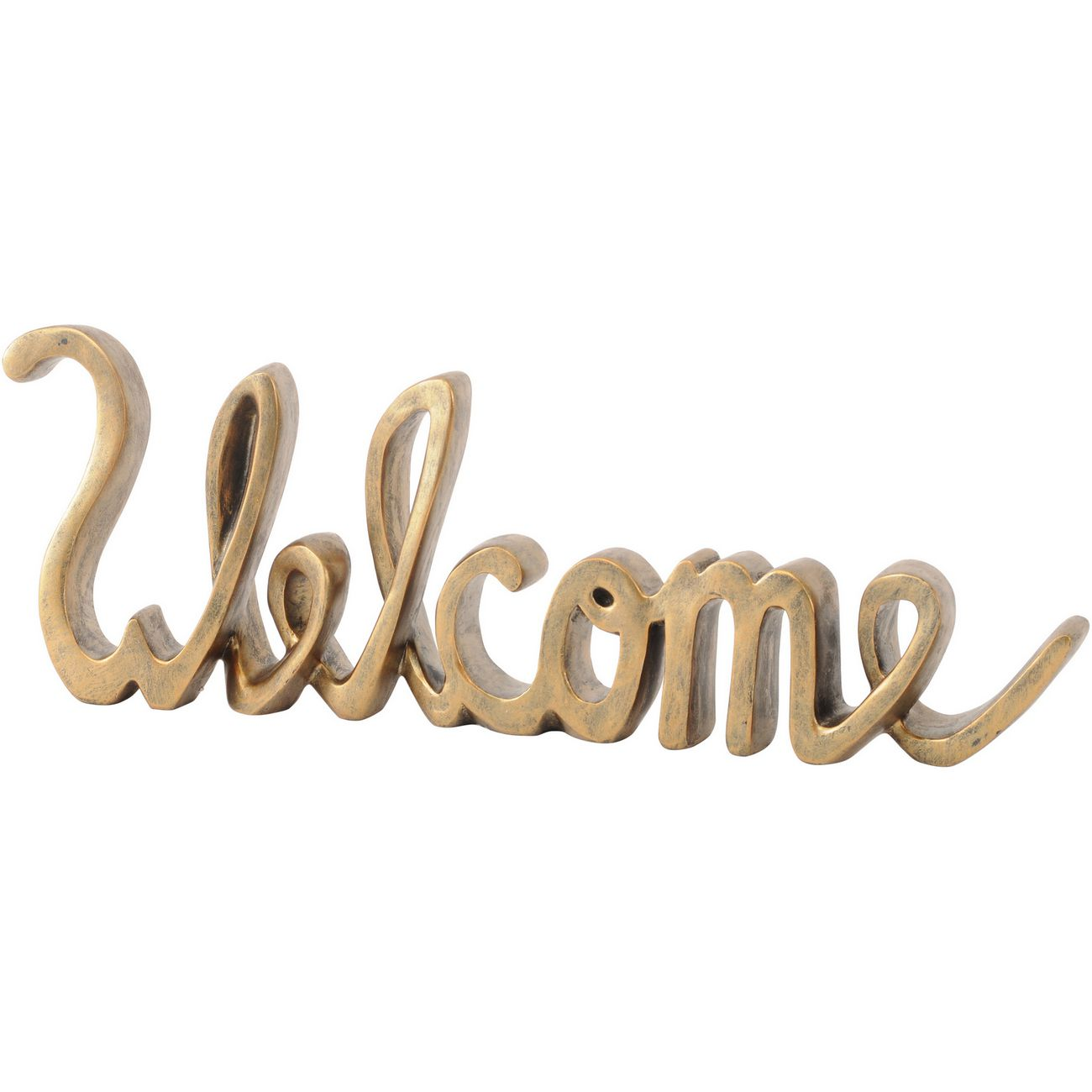 Jan Promo - Welcome Sign Sculpture thumbnail