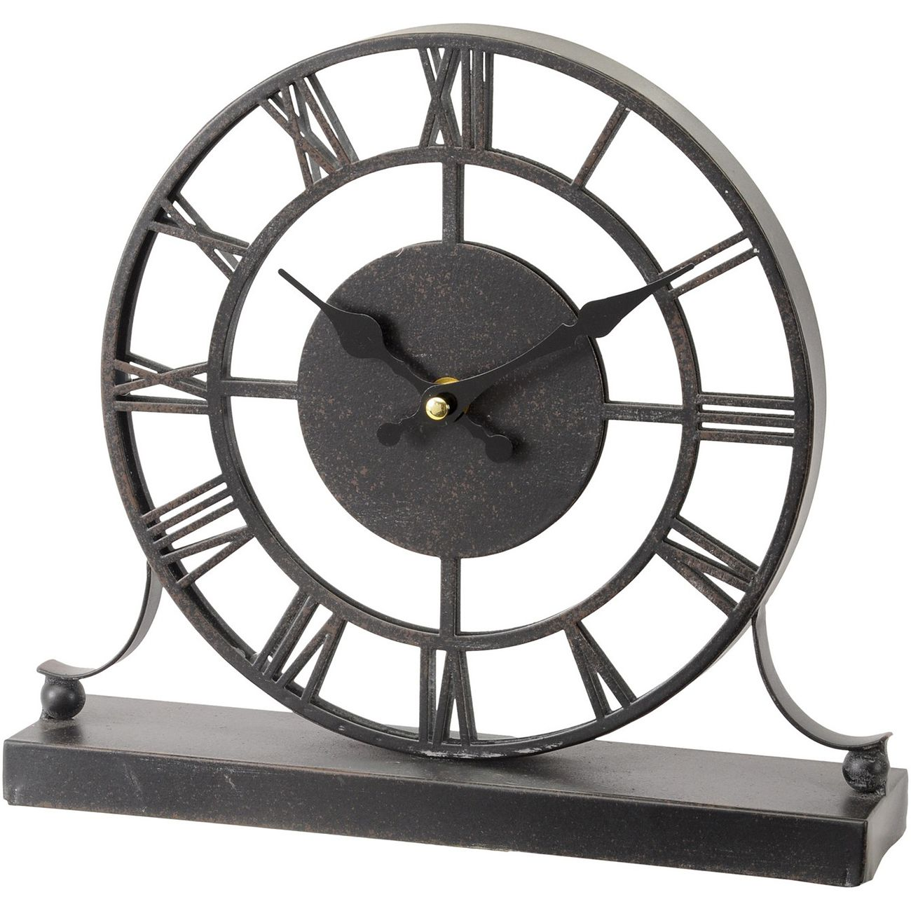Antique Grey Mirrored Mantel Clock thumbnail