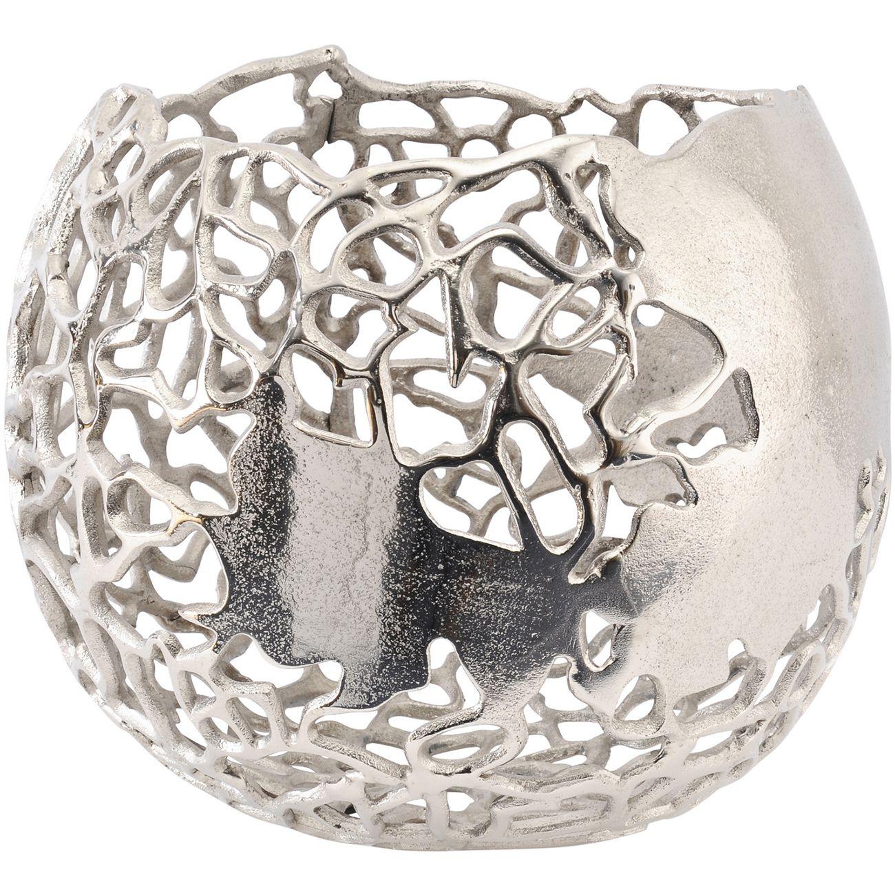 Apo Coral Spherical Aluminium Vase thumbnail