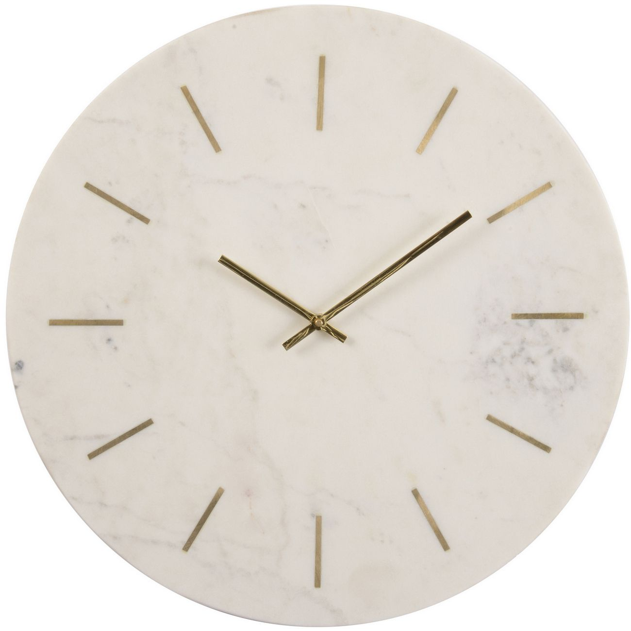 Oct Promo - Brass Inlay And Marble Wall Clock thumbnail
