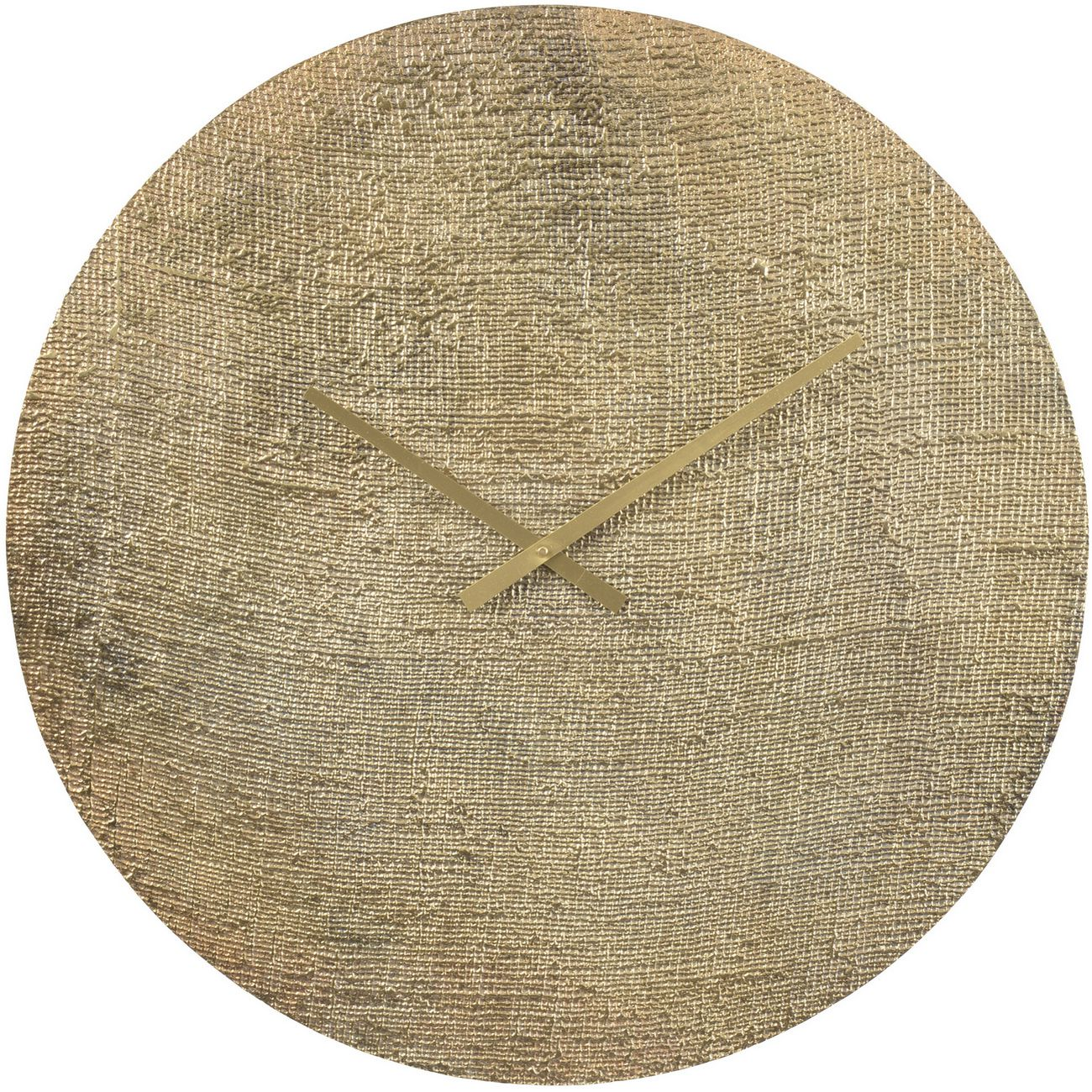Antique Bronze Textured Aluminium Wall Clock thumbnail