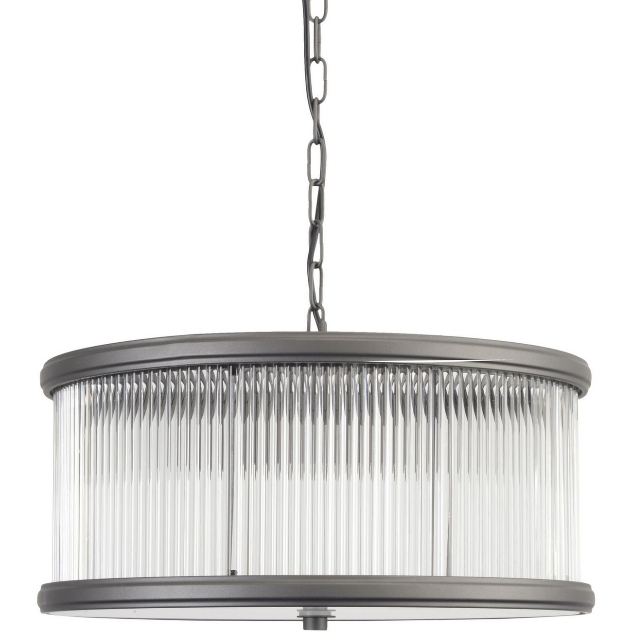 Arkley Glass Drum Pendant Light thumbnail