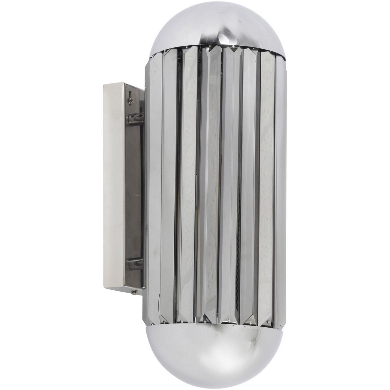 Neptune Nickel And Smoke Wall Sconce E14 40W 1 thumbnail