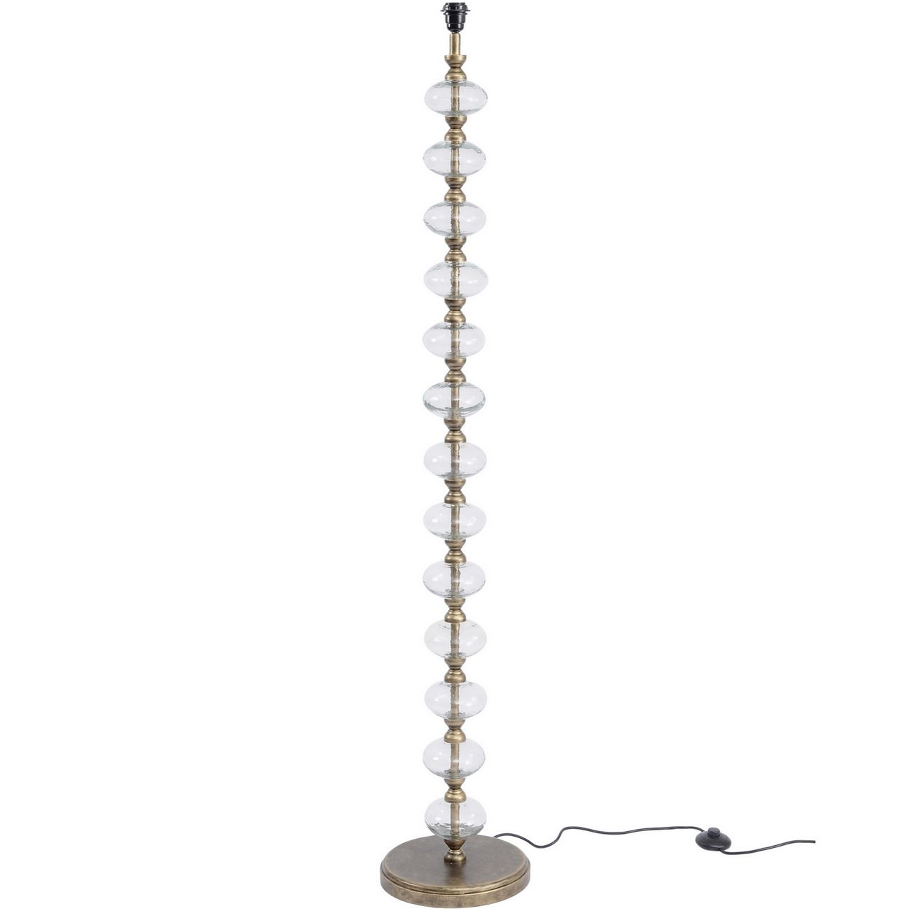 Romana Antique Gold Bubble Floor Lamp (Base Only) thumbnail