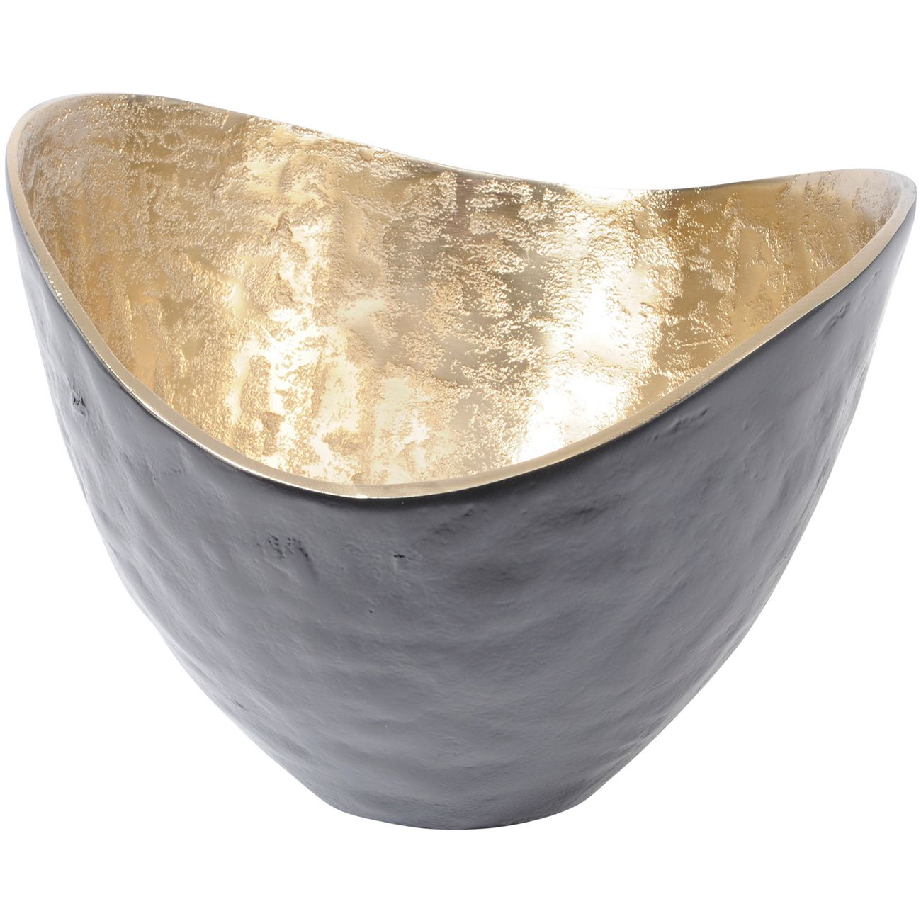 Adari Organic Gold and Black Bowl thumbnail