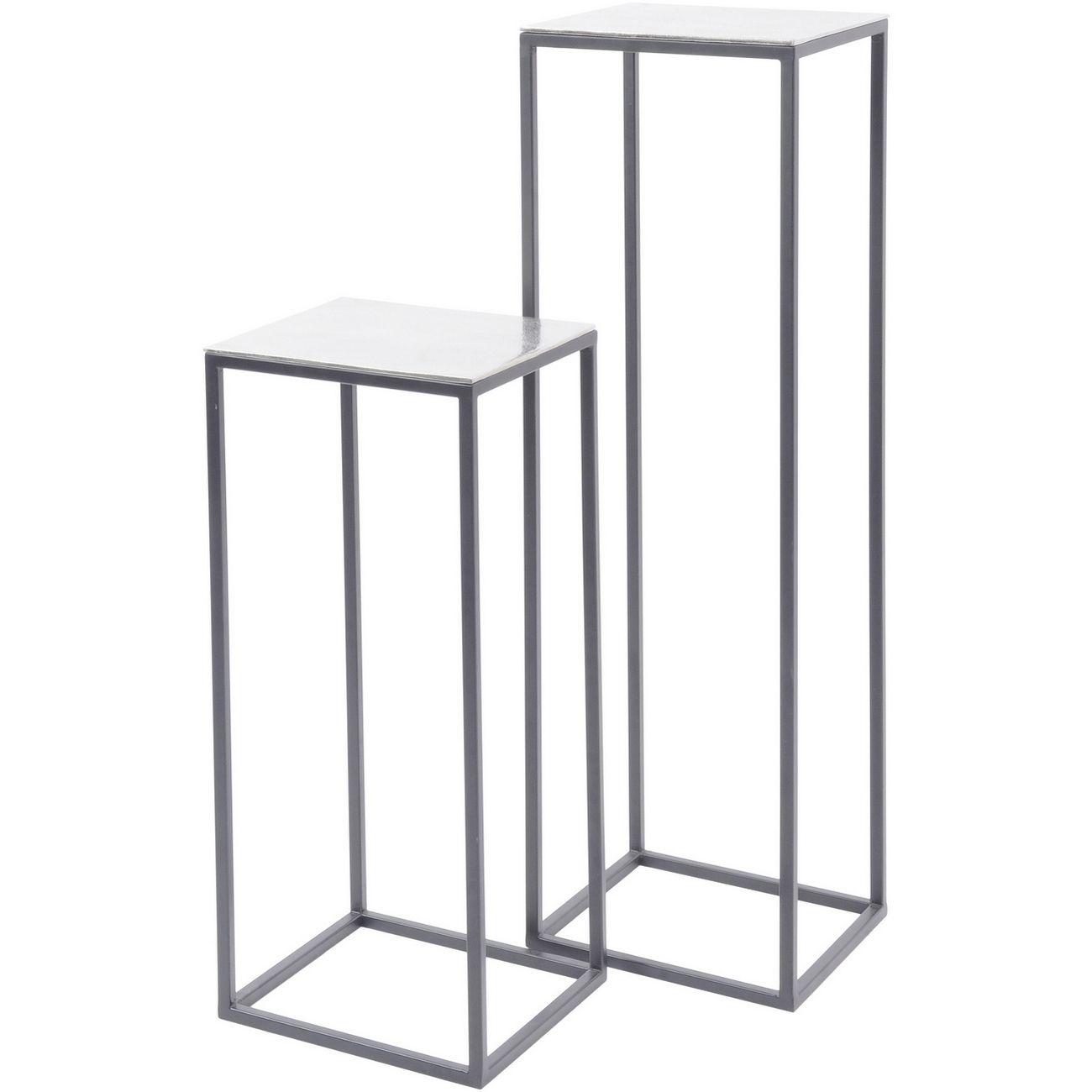Elements Set of 2 Pedestal Tables thumbnail