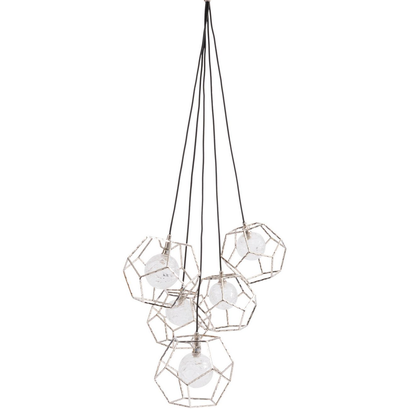 Apus Pentagon Hanging Pendant Light LED G9 5W 5 thumbnail