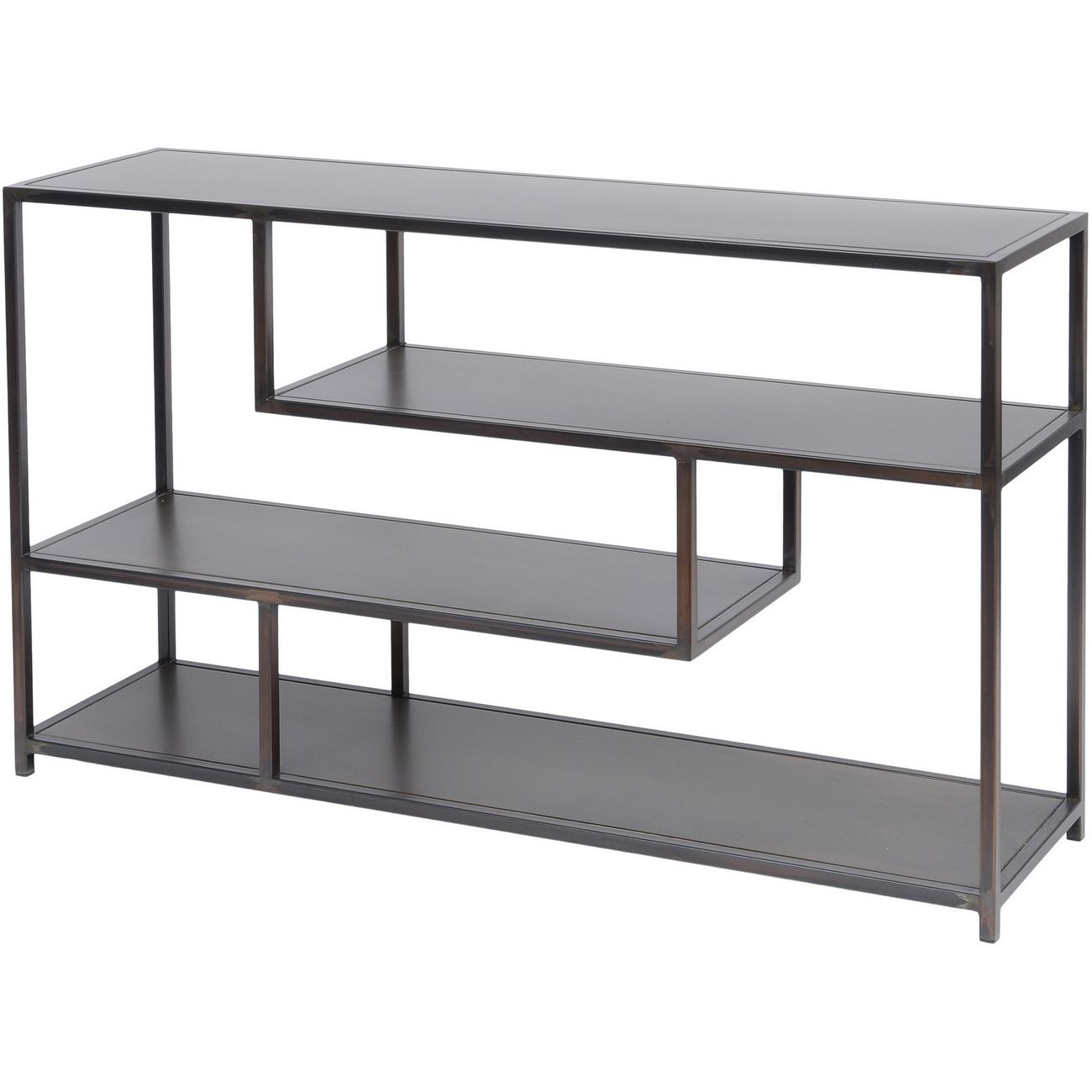 Fitzroy Bronze Metal Modular Shelving Unit Small thumbnail
