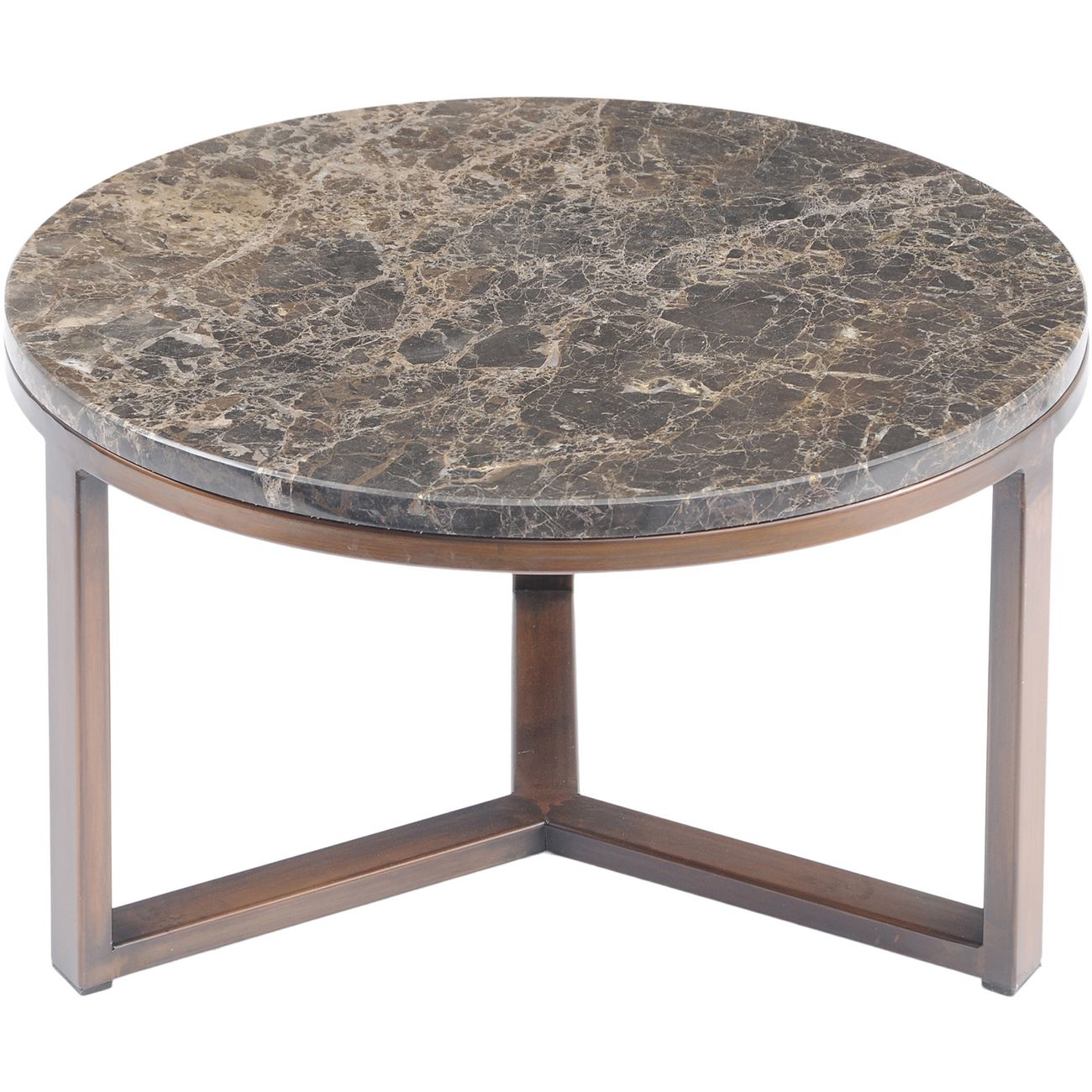 Fitzroy Small Emperador Marble Coffee Table thumbnail