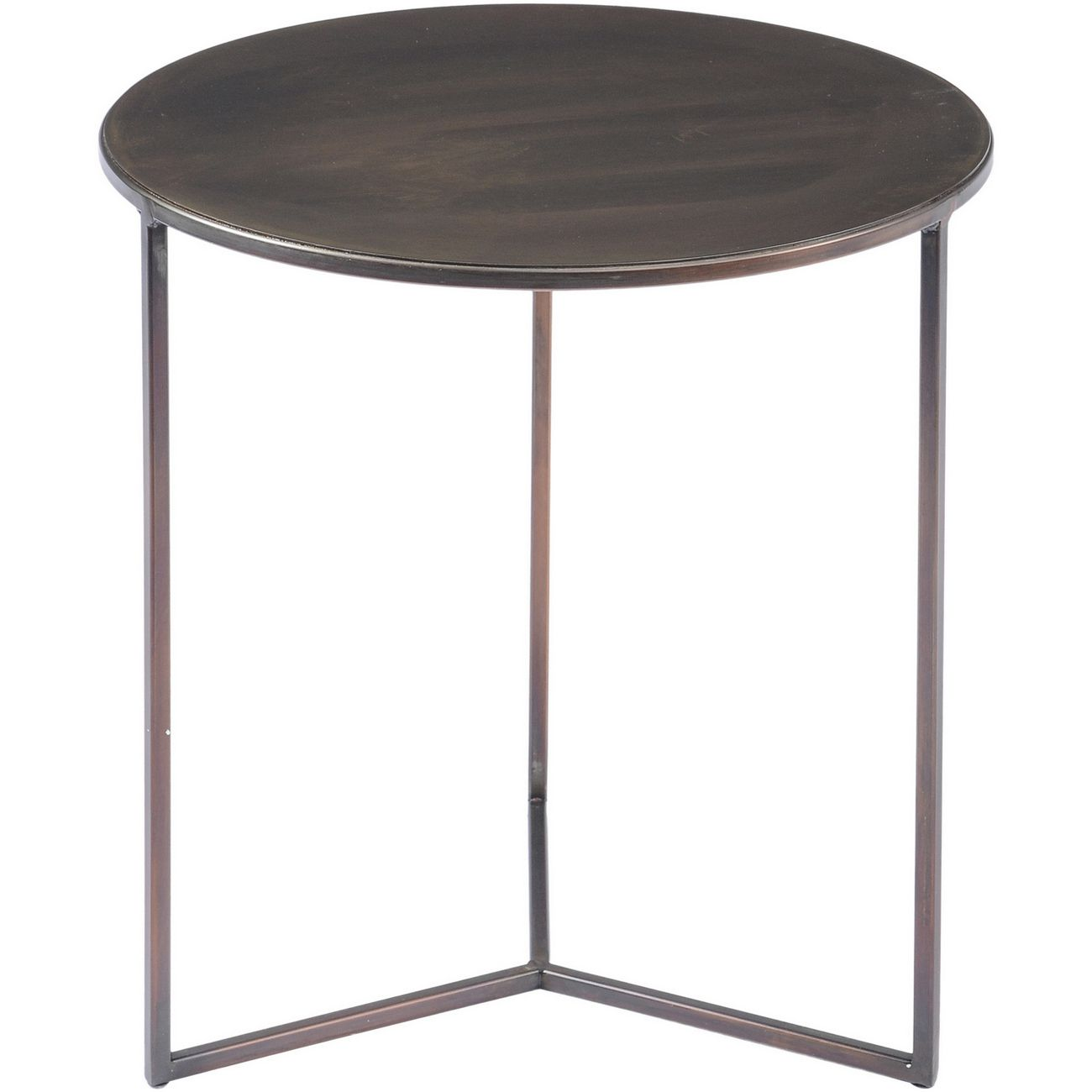 Fitzroy Bronze Side Table Small thumbnail