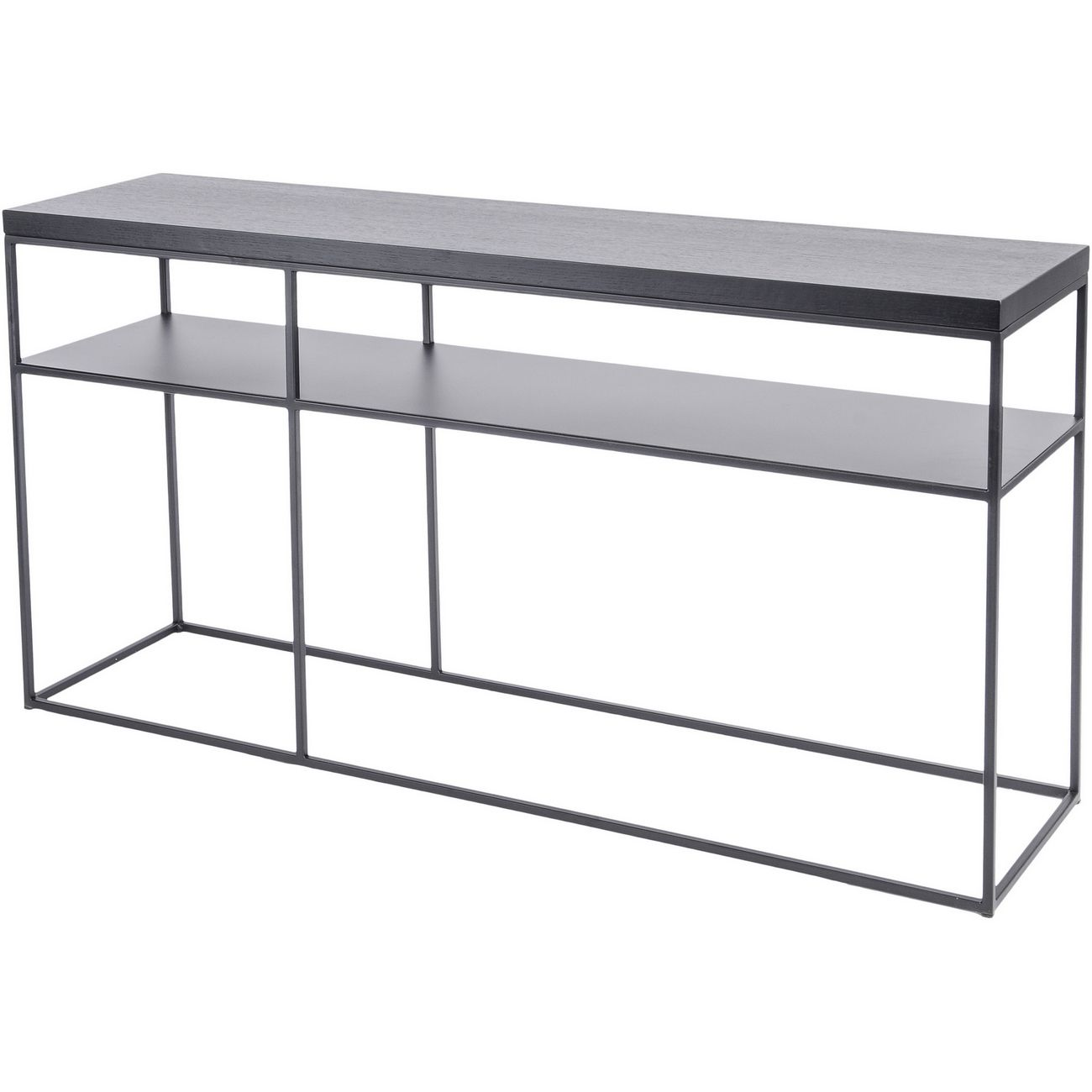 Chancery Black Ash Console Table thumbnail