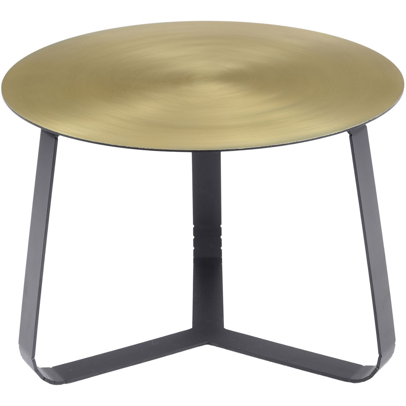 Bloomsbury Shiny Brass Coffee Table Small thumbnail