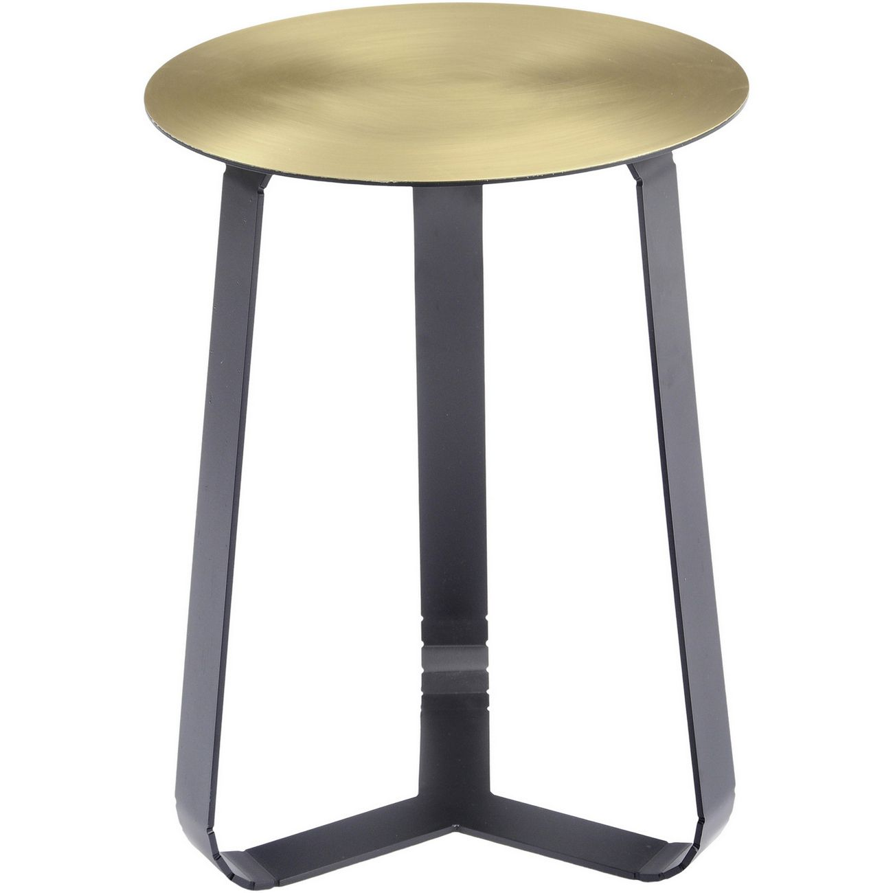 Bloomsbury Shiny Brass Side Table thumbnail
