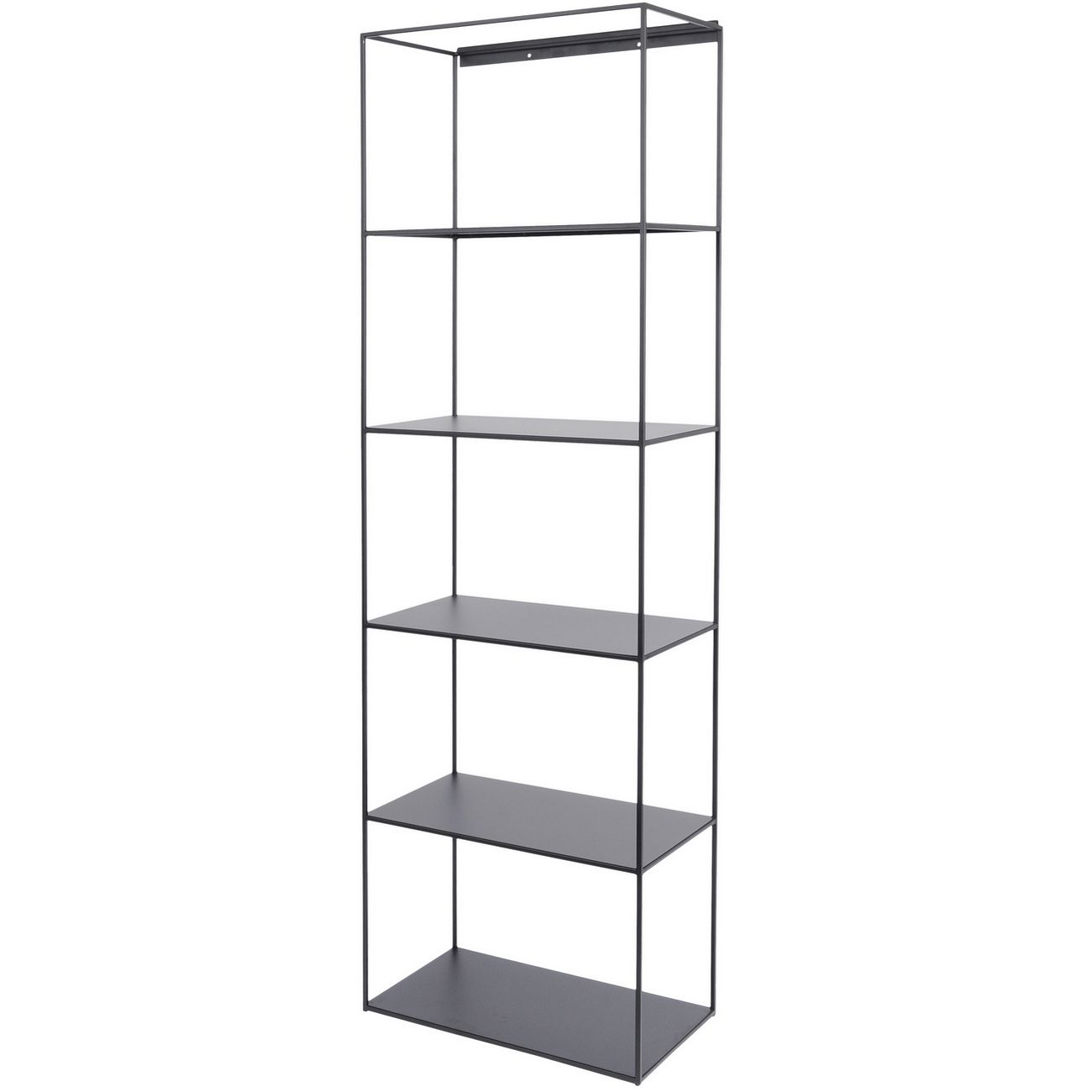 Chancery Black Metal Shelving Unit thumbnail