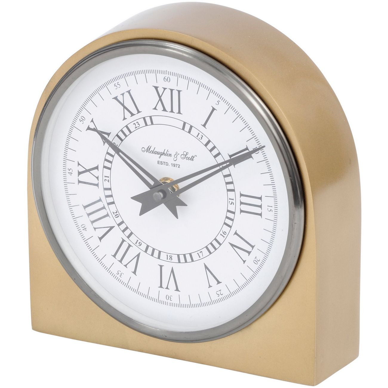 Lexington Arched Brass Table Clock thumbnail