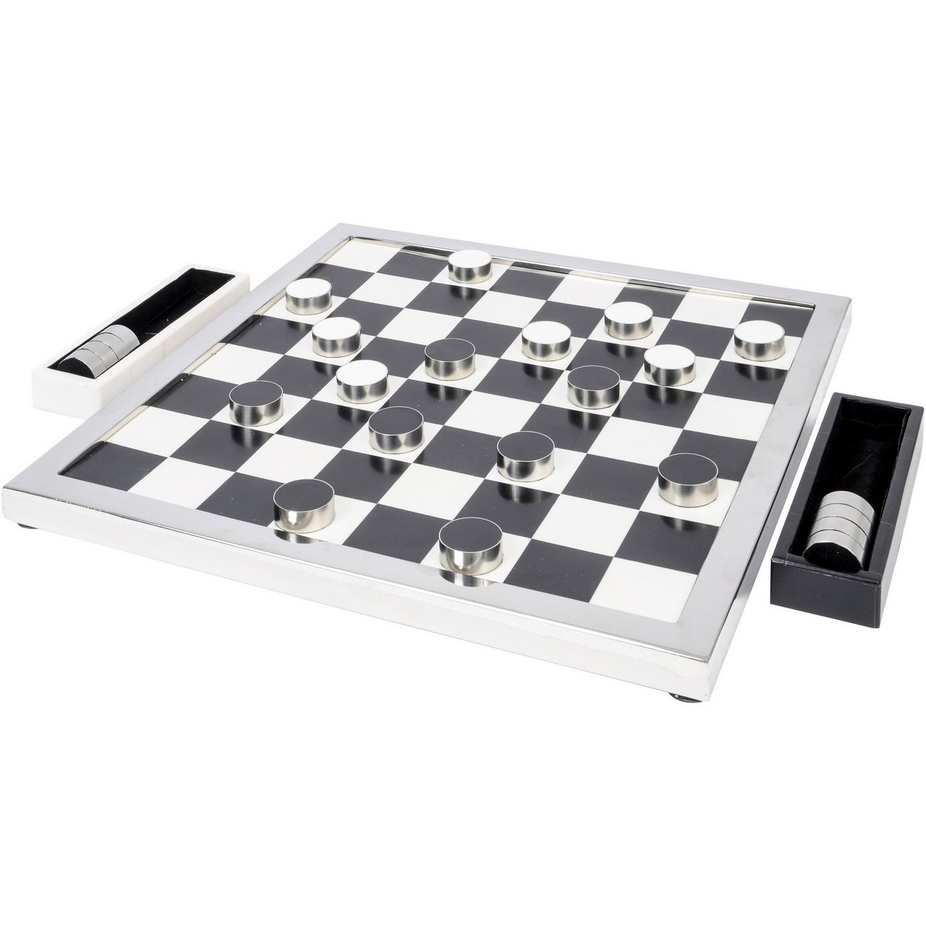 Egan Checker Game in Steel Frame thumbnail