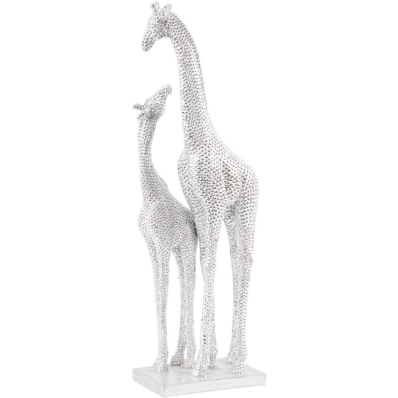 Atwell Mother and Baby Resin Giraffe Sculpture thumbnail