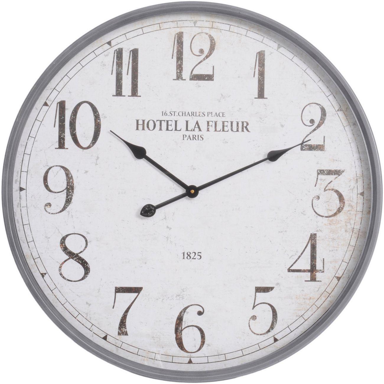 Hotel La Fleur Wall Clock thumbnail