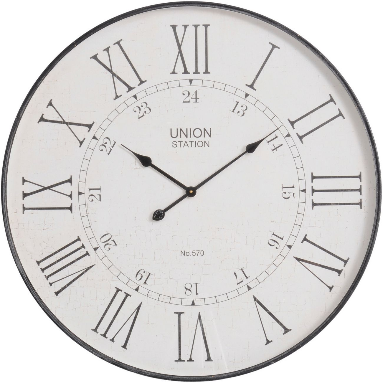 Antique Grey Wall Clock thumbnail