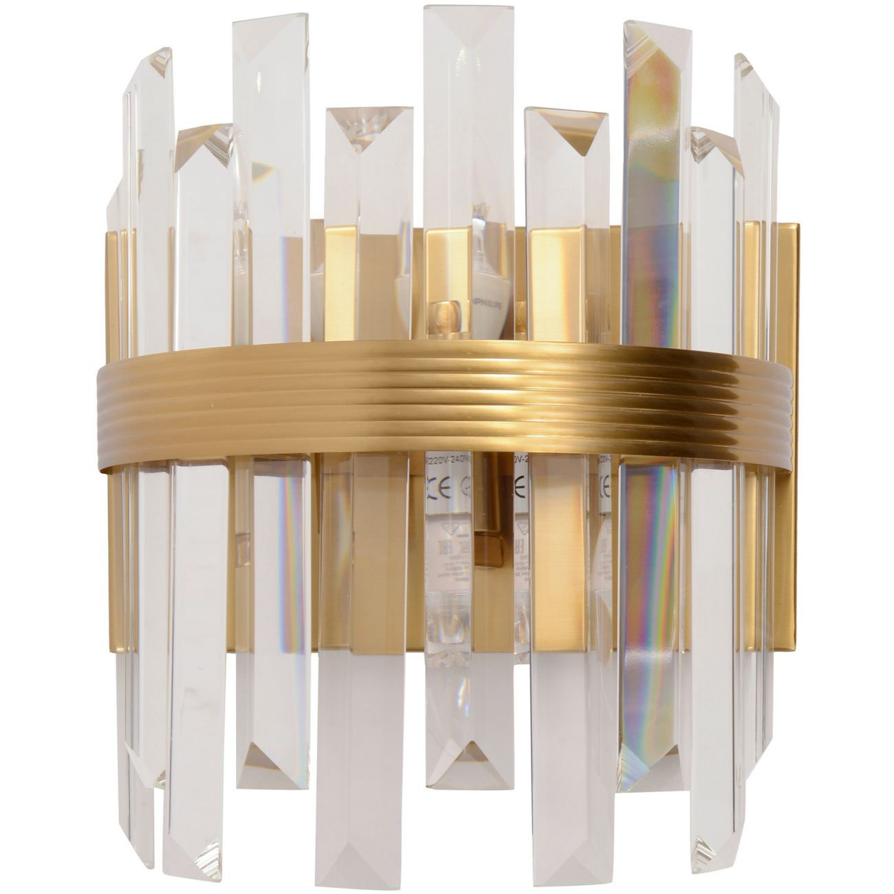 Crystal Statement Wall Light  E14 40W 2 thumbnail