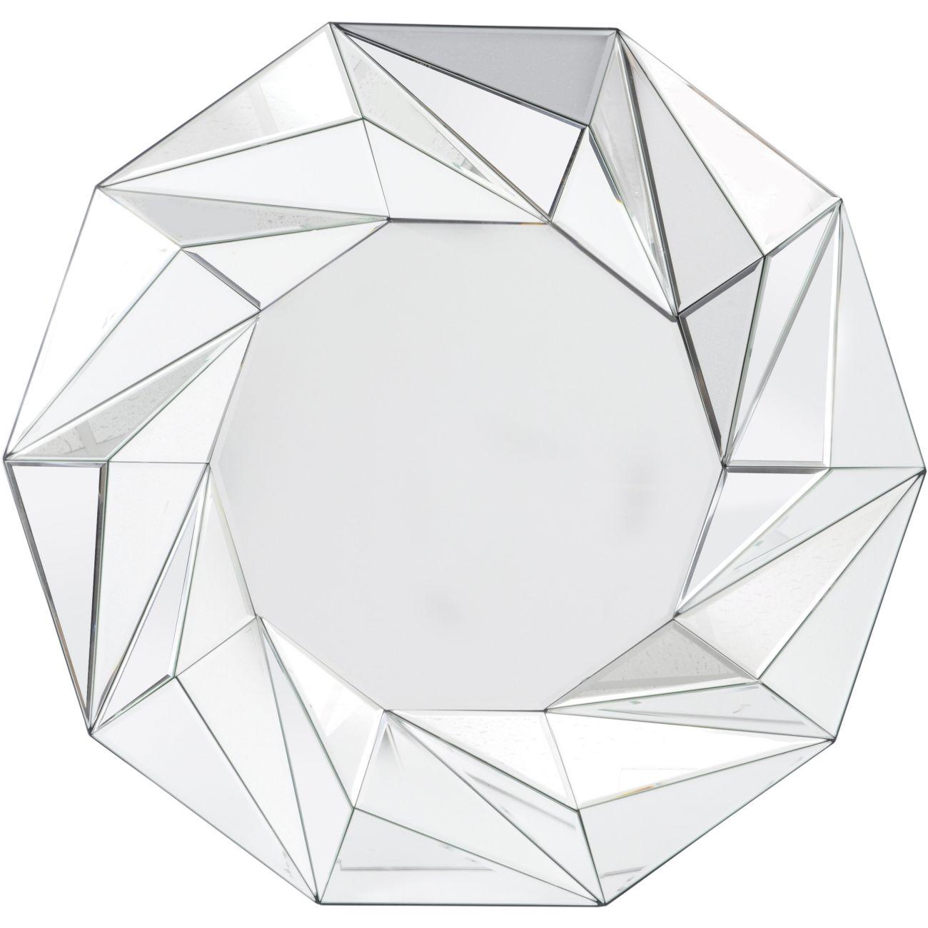 Tessellated Geometric Wall Mirror thumbnail