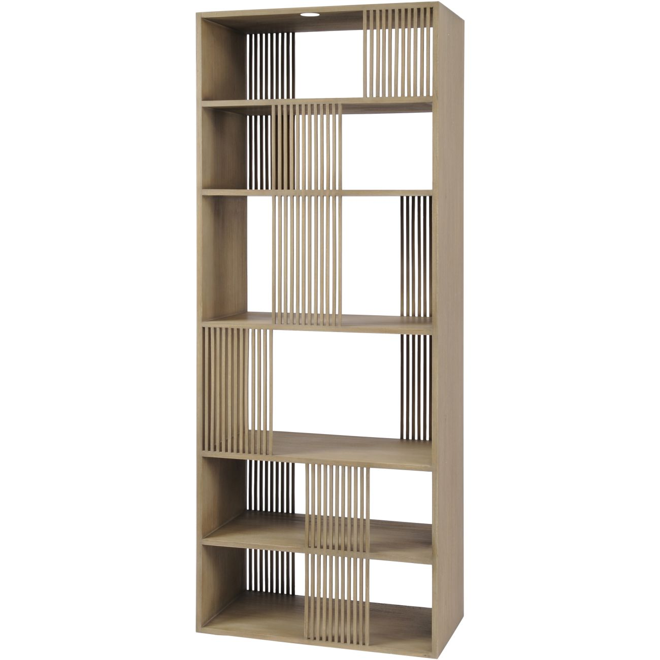 Beaulieu Tall Midi Wood Shelving Unit thumbnail