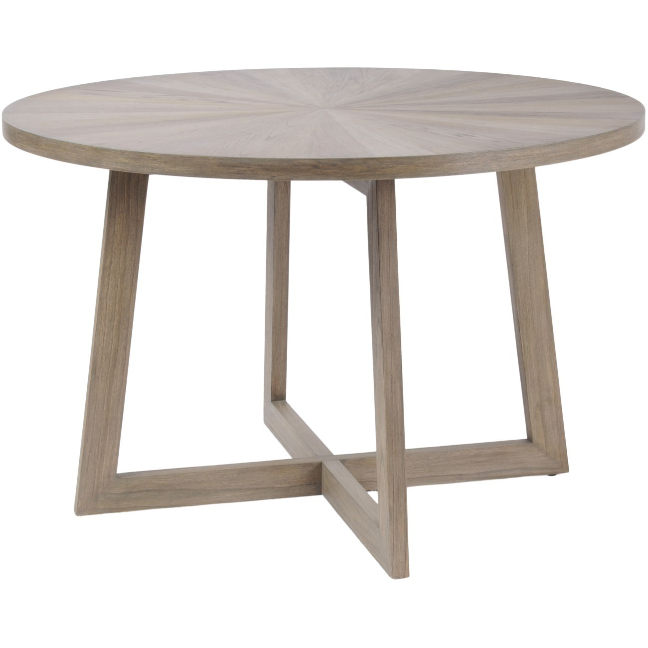 Dowell Round Mindi Wood Dining Table thumbnail