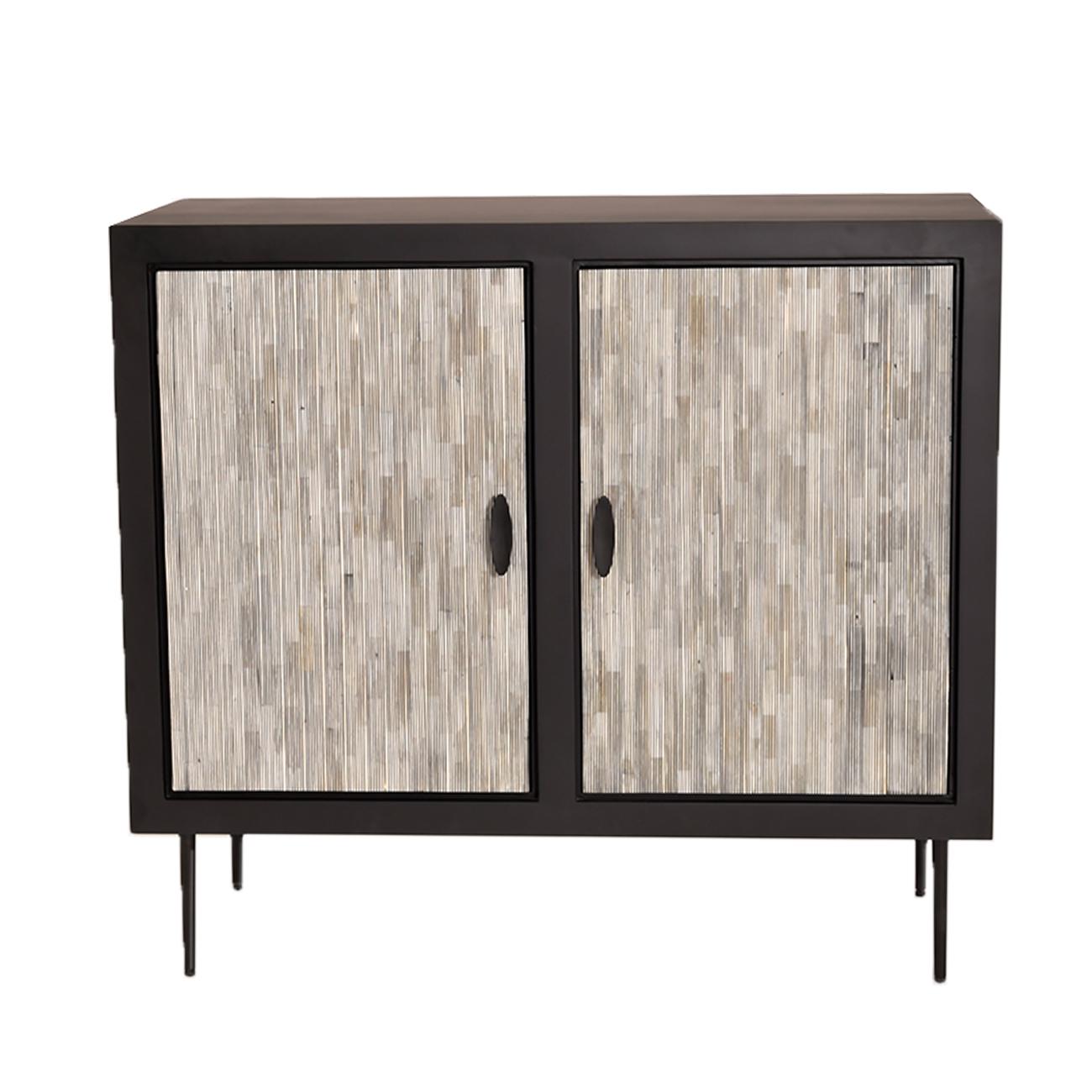 Piaggio Bone Inlay Pin Striped Cabinet thumbnail