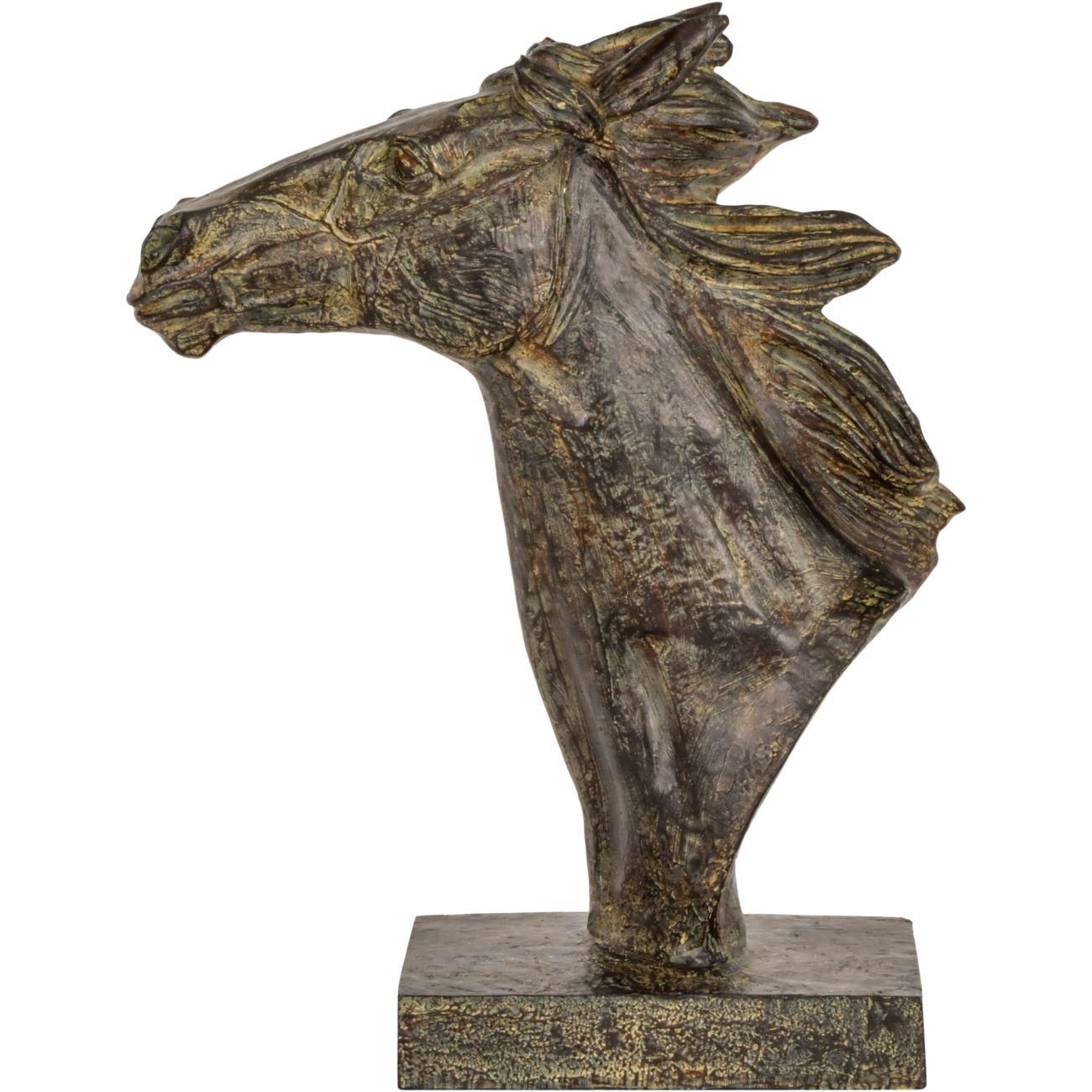 Pegasus Verdigris Resin Horse Sculpture thumbnail