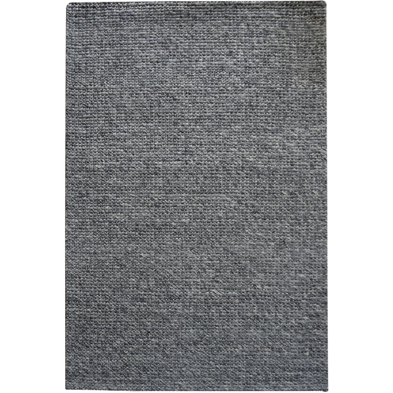 Alveri Jacquard Durry Charcoal 160x230cm Wool Rug thumbnail