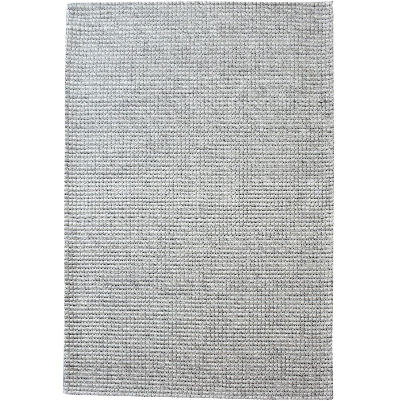 Alveri Jacquard Durry Grey 160x230cm Wool Rug thumbnail