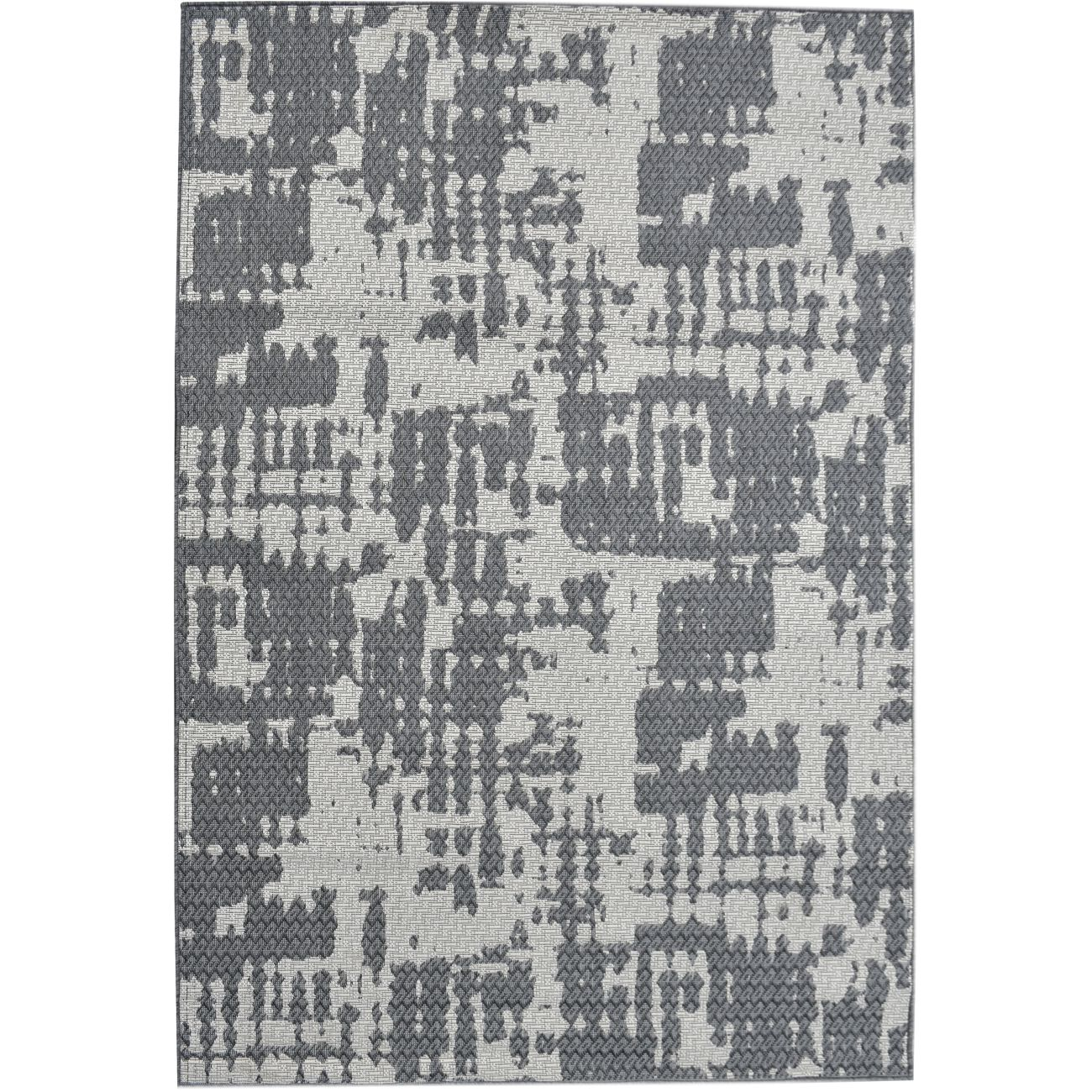 Cahors Made in Turkey Beige & Grey Pattern 160x230cm Polypropylene Rug thumbnail