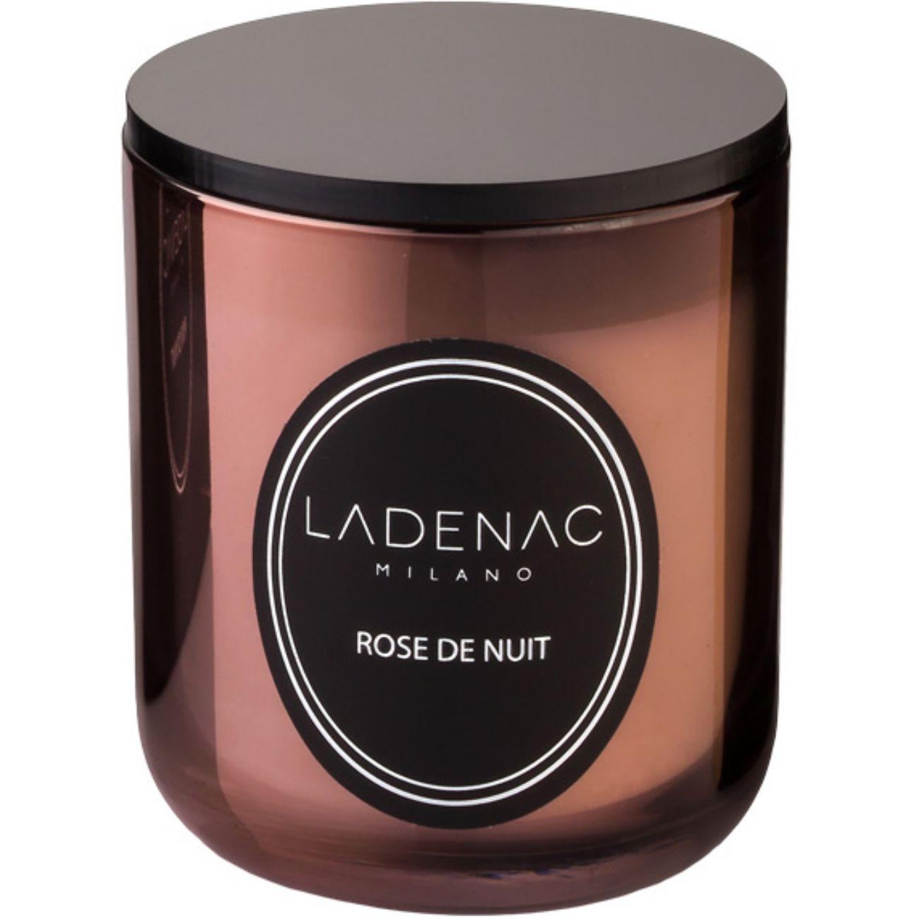Ladenac Urban Senses Scented Candle in 200gr Pink Metallic Jar - Rose De Nuit thumbnail