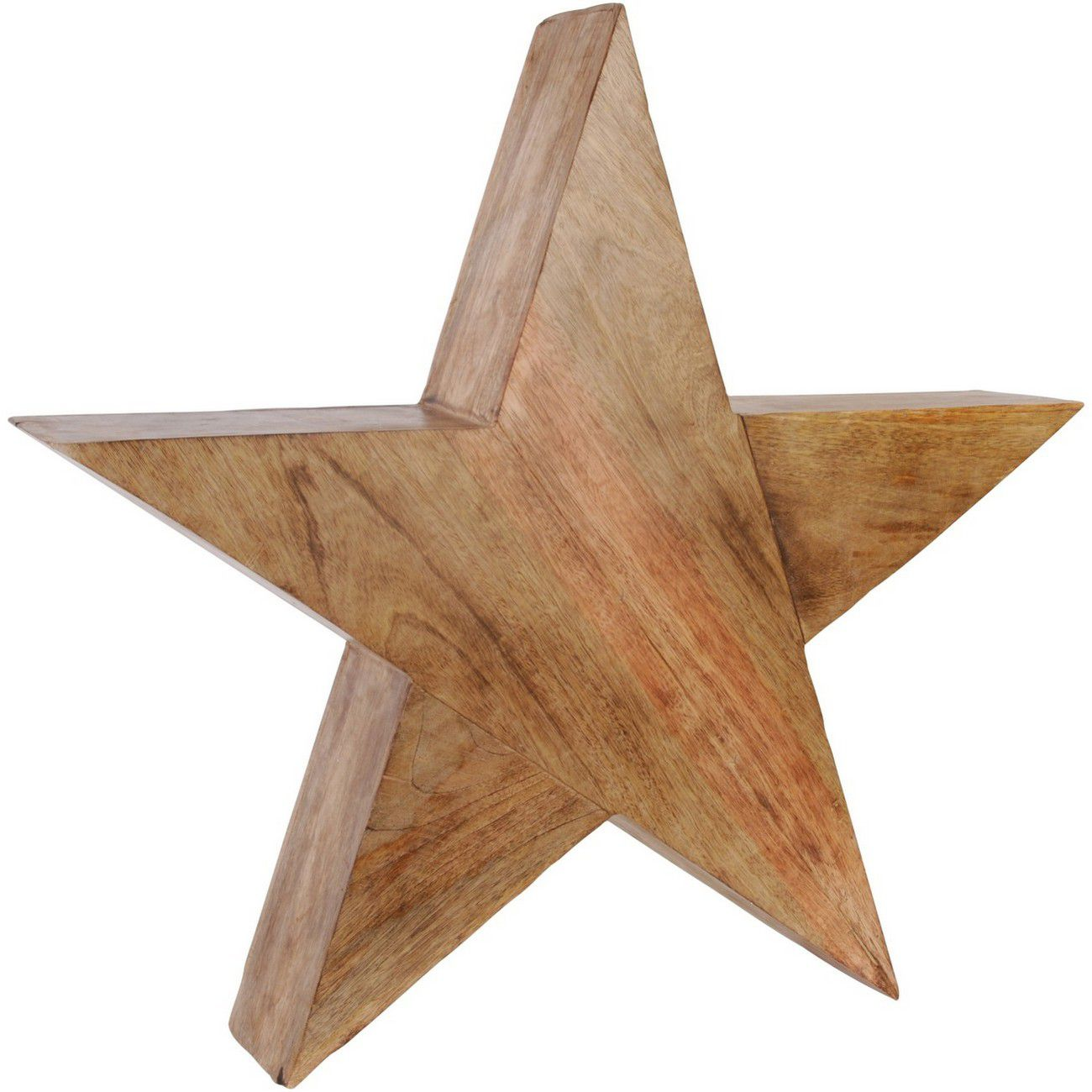 Rustic Wooden Standing Star Large - Xmas thumbnail