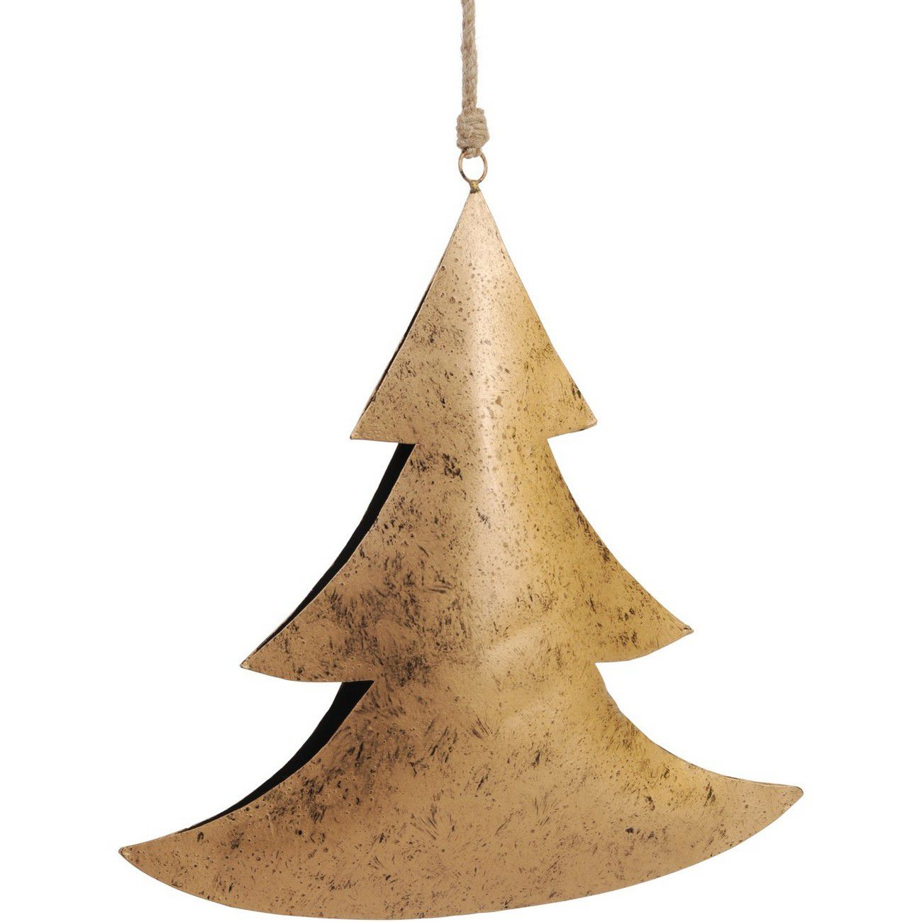 Gold Hanging Tree Large - Xmas thumbnail
