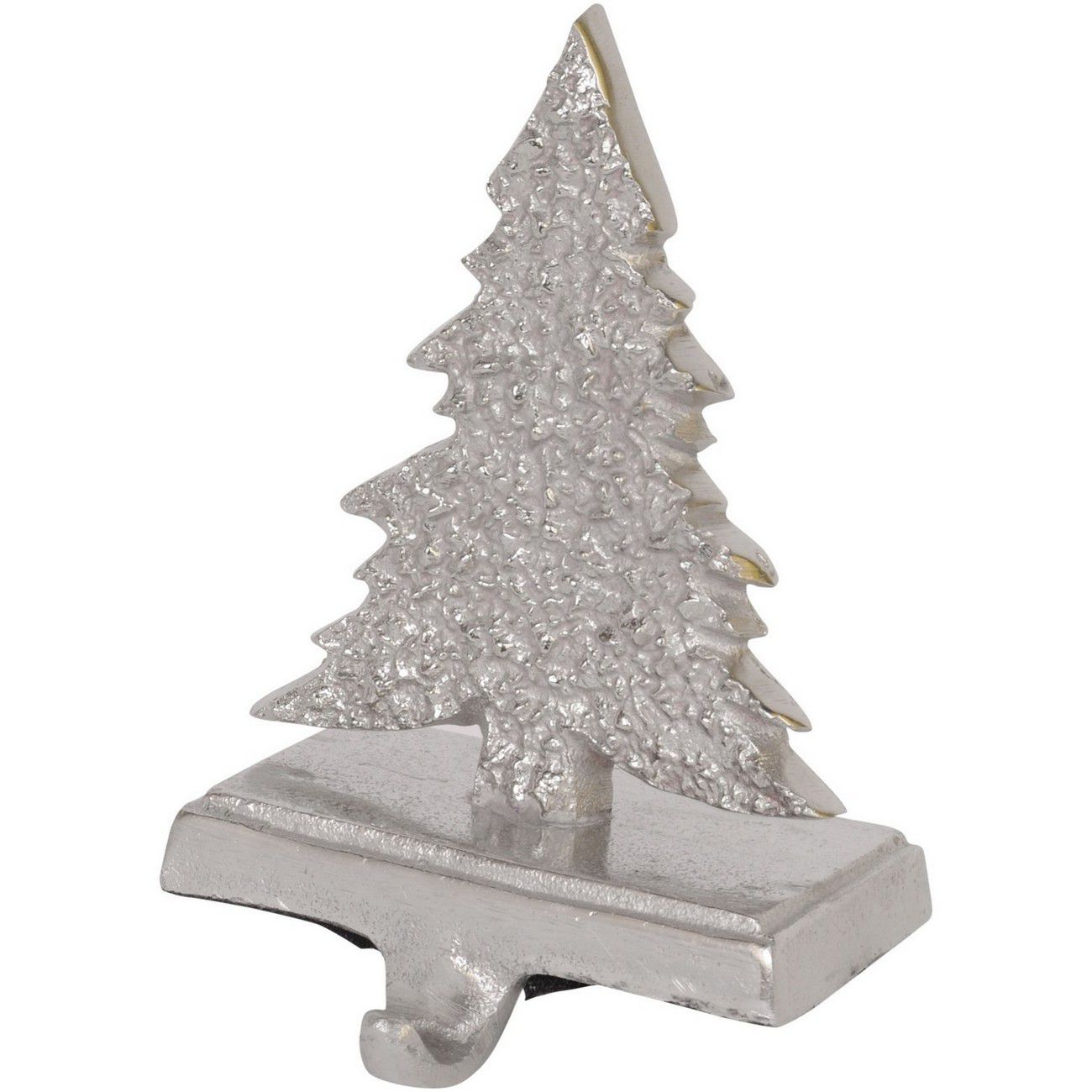 Silver Aluminium Tree Stocking Hanger Small thumbnail