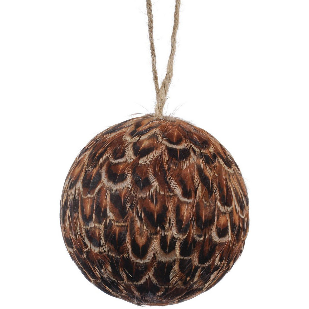 Feather Small Brown Pheasant Bauble thumbnail