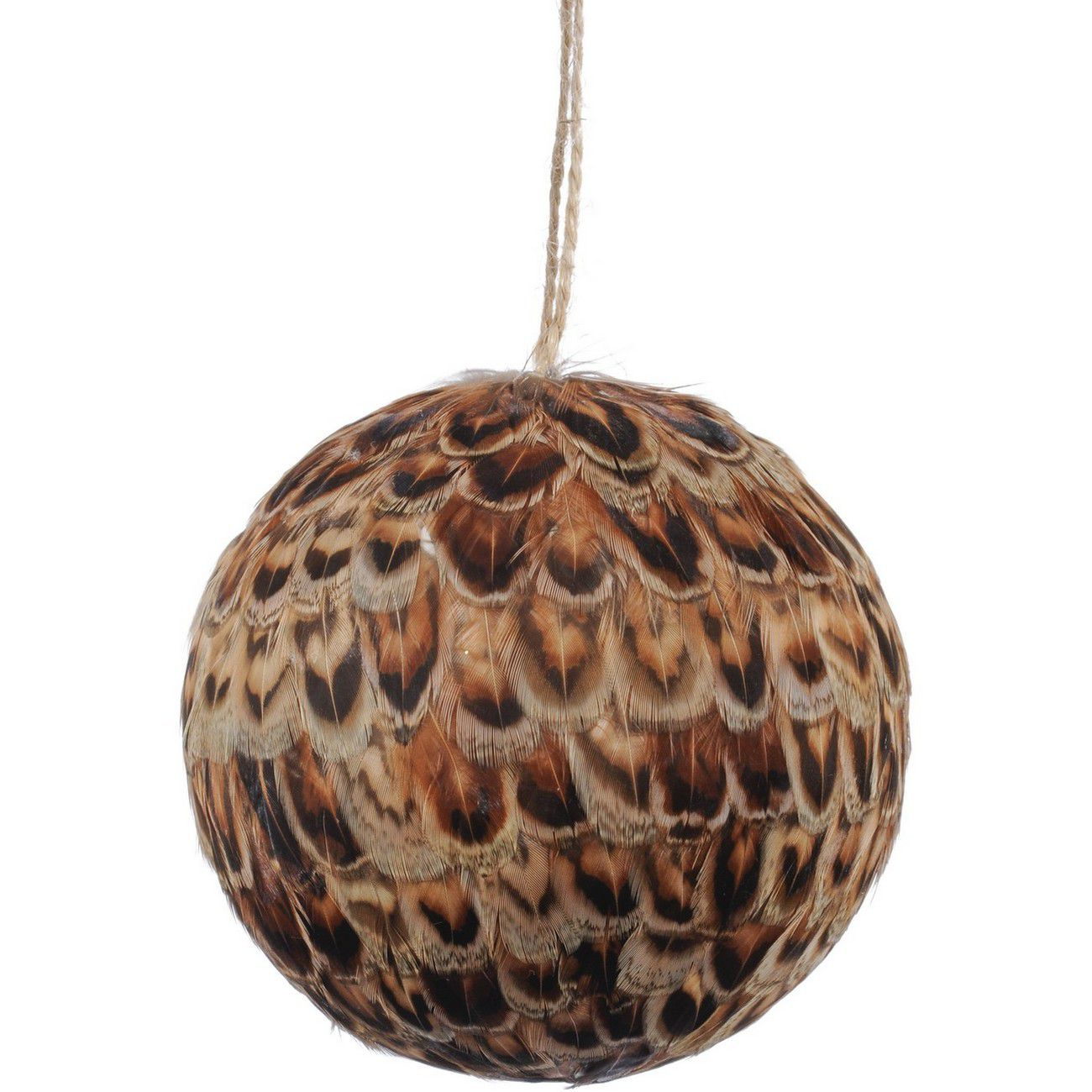 Feather Large Pheasant Bauble - Xmas thumbnail