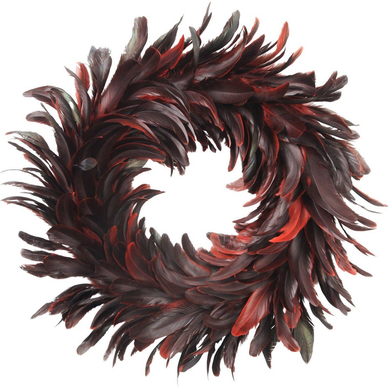 Feather Red Wreath thumbnail