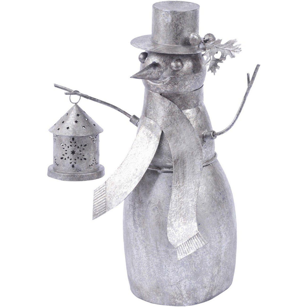 Snowman Sculpture - Xmas thumbnail